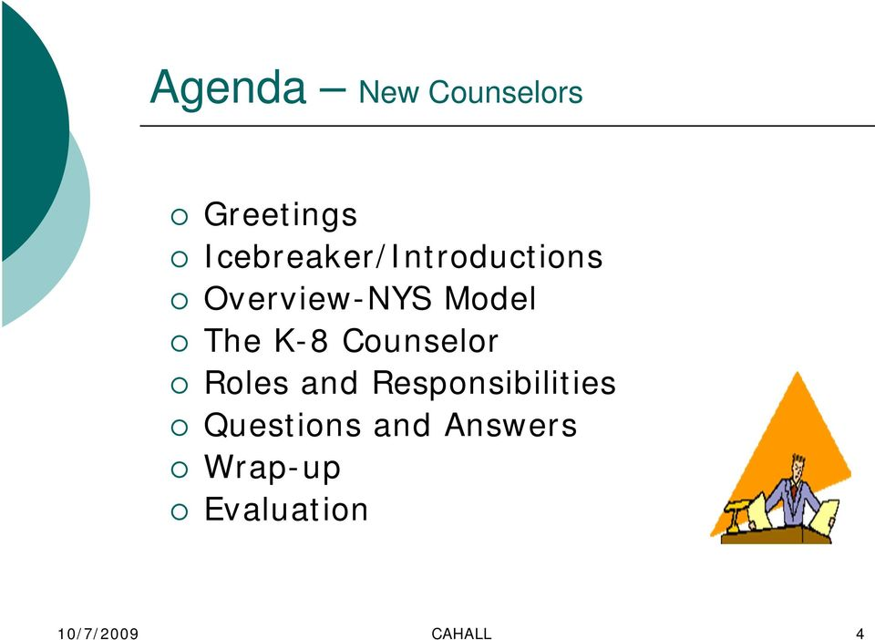The K-8 Counselor Roles and Responsibilities