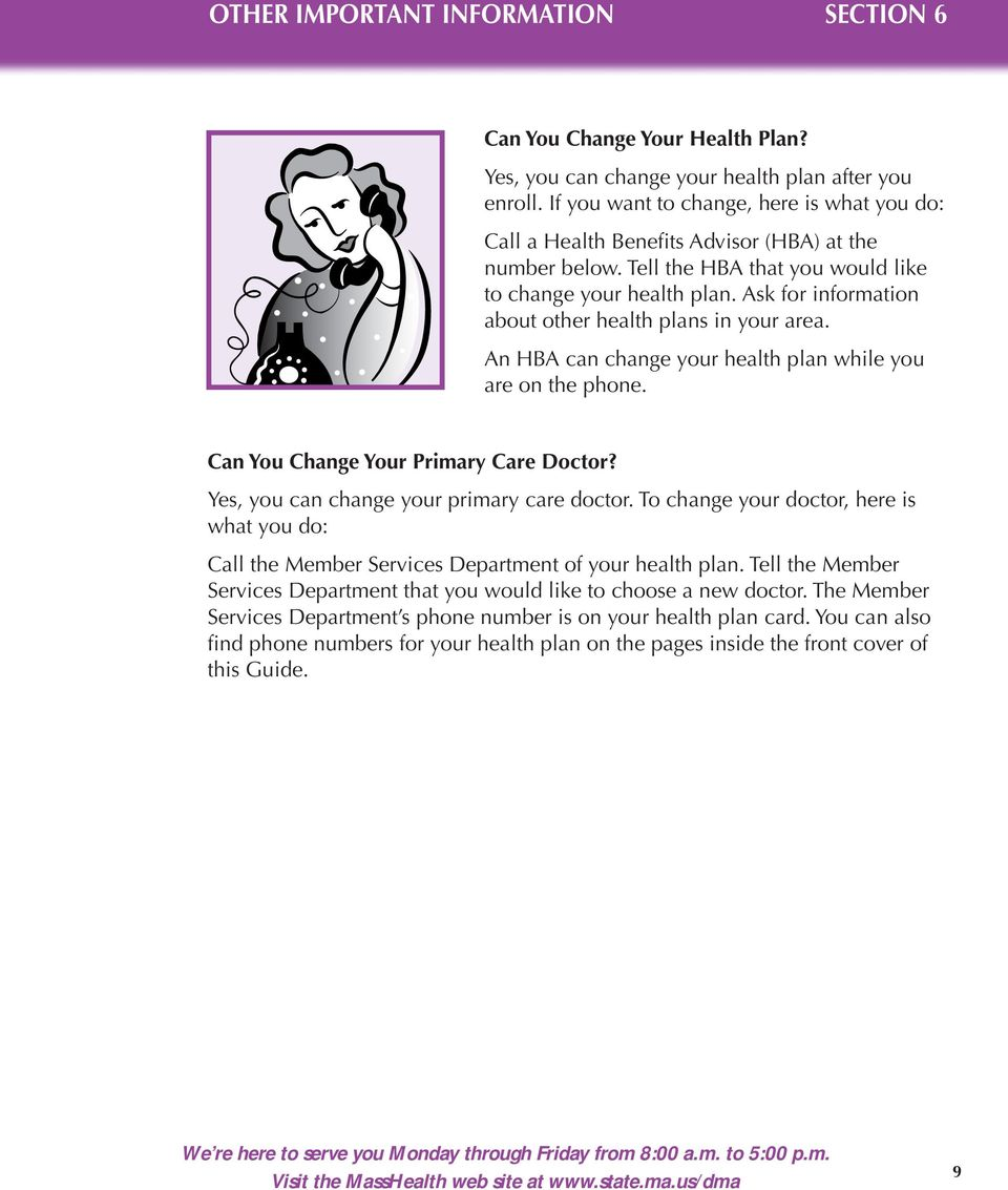 Masshealth Enrollment Guide Tty Helping You With Your Health Plan