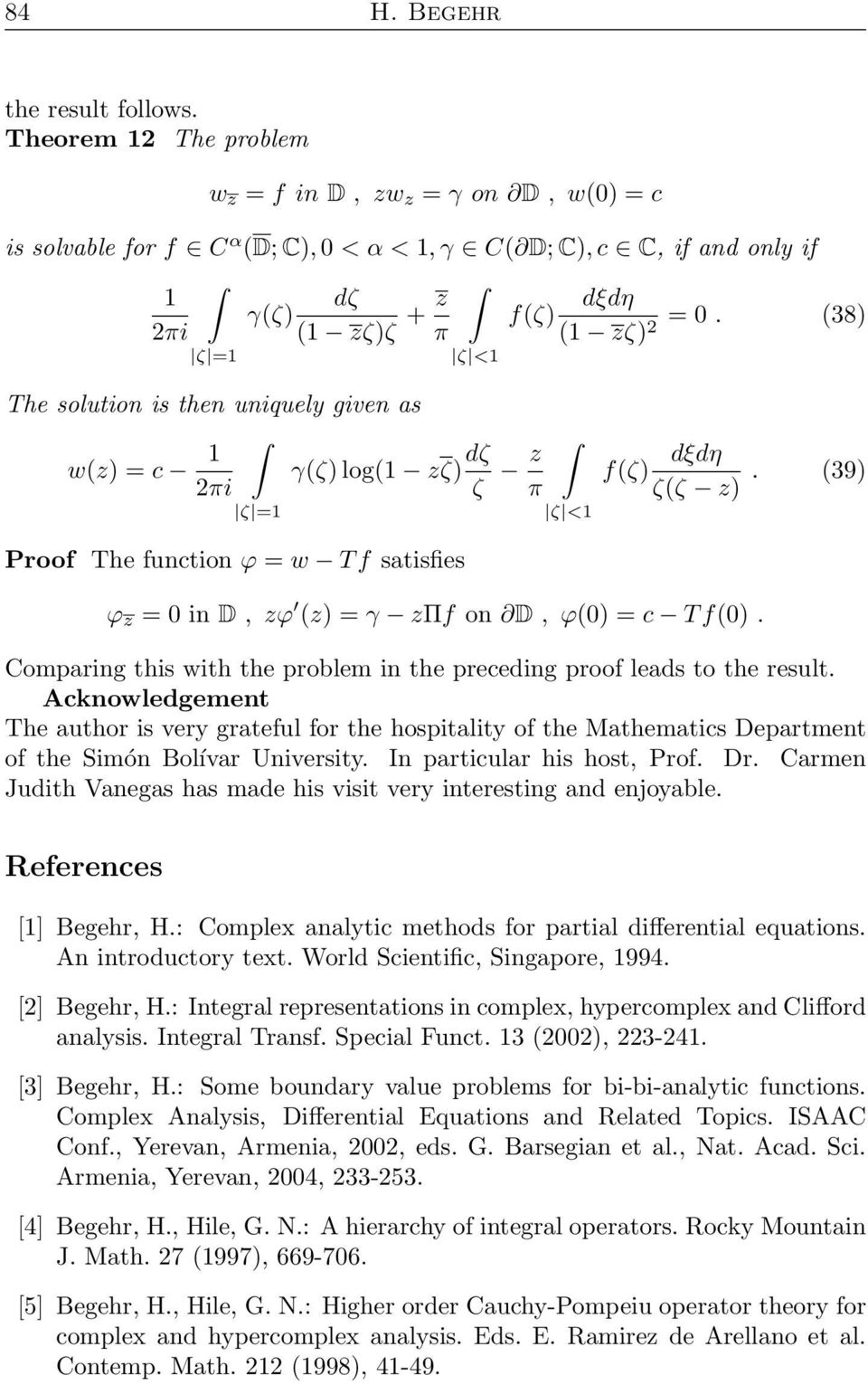 Boundary value problems in complex analysis I - PDF