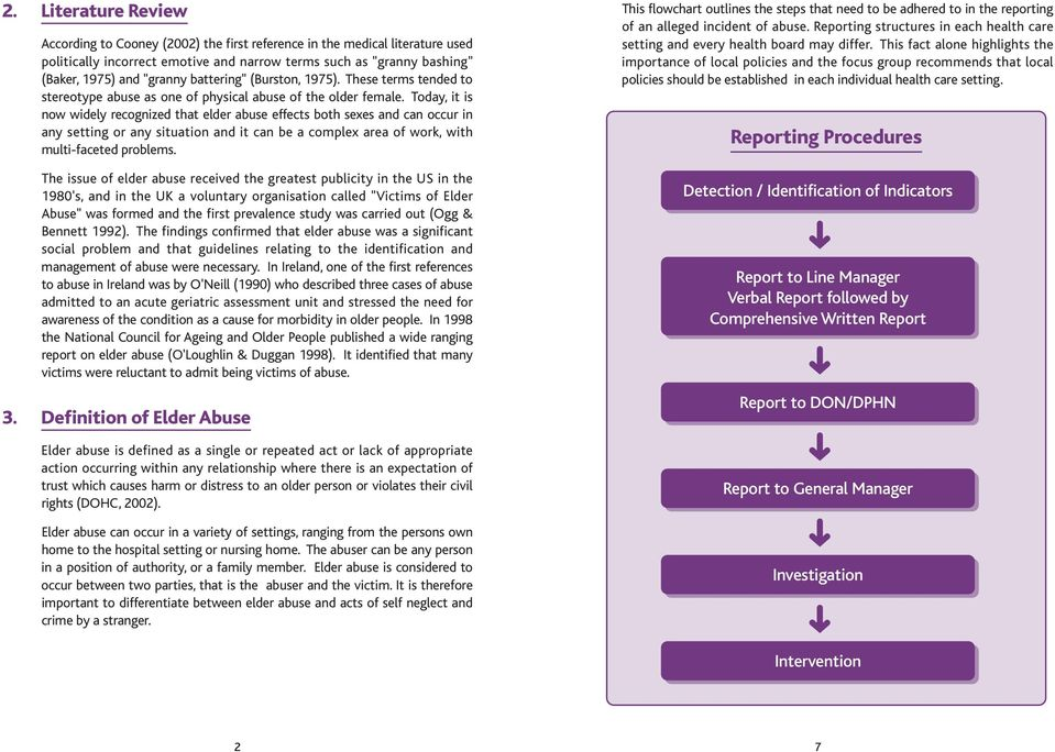 Guidelines for Nurses in the Understanding and Prevention of