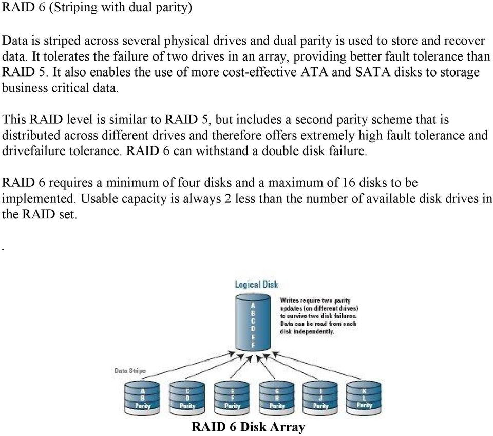 It also enables the use of more cost-effective ATA and SATA disks to storage business critical data.