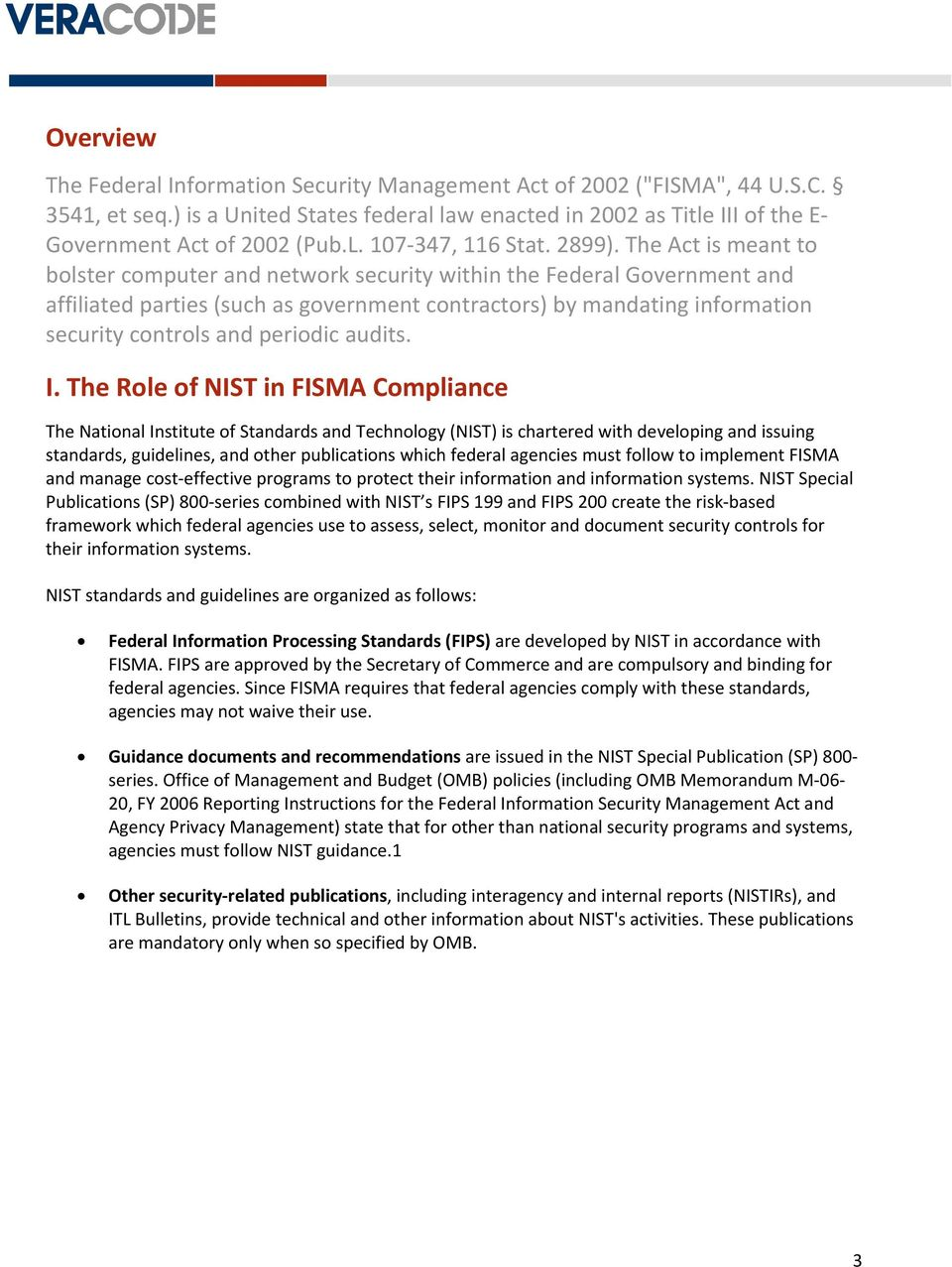 White Paper  Understanding NIST FISMA Requirements - PDF