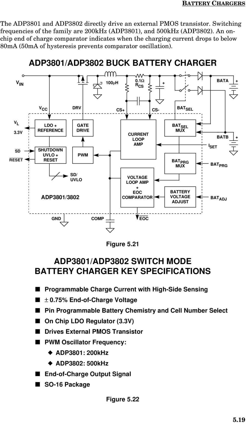 Rechargeable Battery Considerations In Portable Equipment Pdf Batterychargercontroller Controlcircuit Circuit Diagram 1 Bata R Cs V Cc Drv Bat Sel L