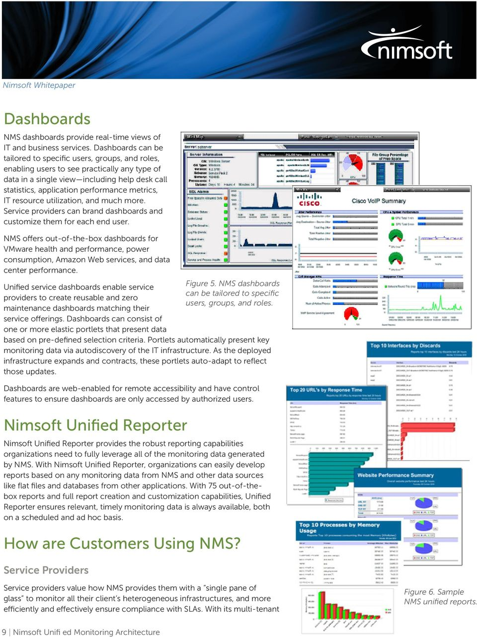 Nimsoft Unified Monitoring Architecture  An Overview - PDF