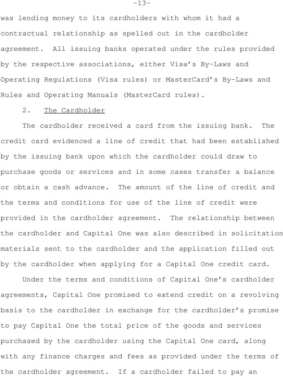 United States Tax Court Capital One Financial Corporation And