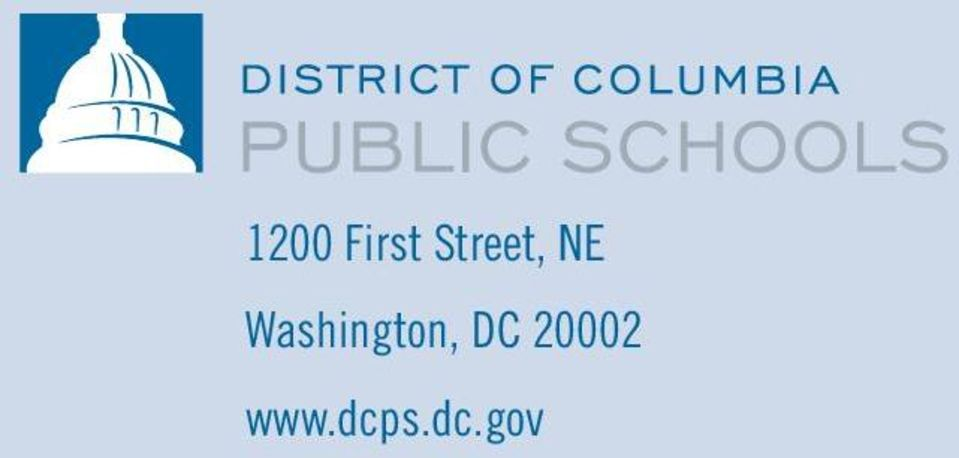 dcps.dc.gov OFFICE OF