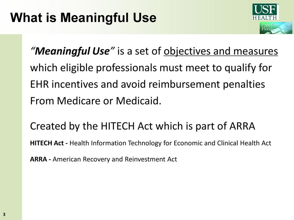 Medicare or Medicaid.