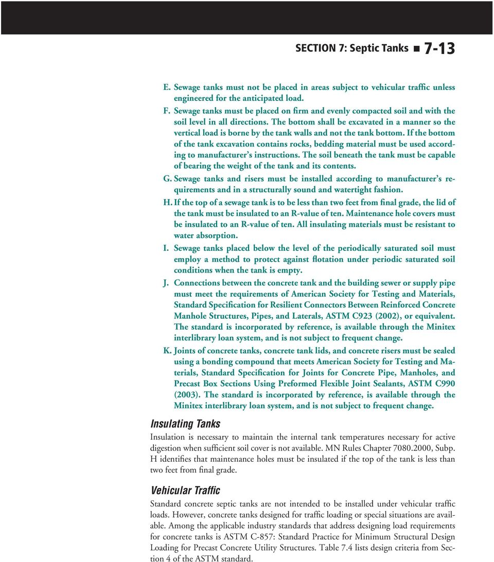 SECTION 7: Septic Tanks - PDF