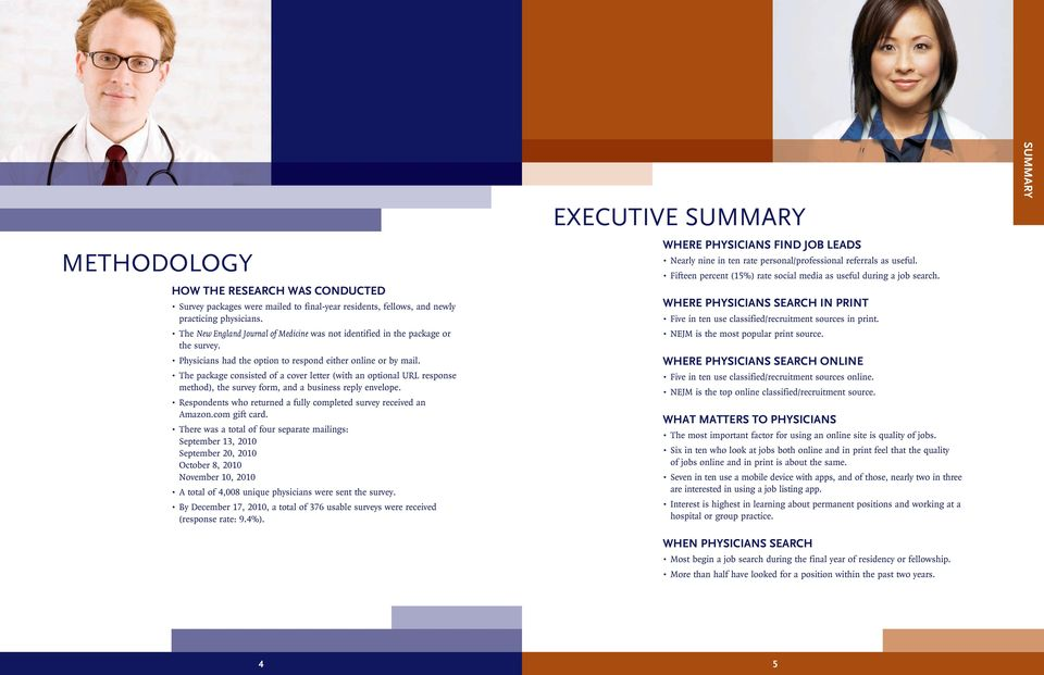 HOW PHYSICIANS SEARCH FOR JOBS - PDF