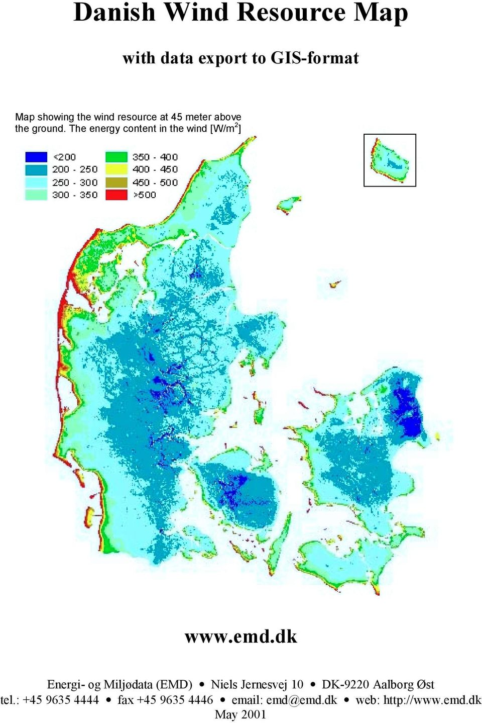 Danish Wind Resource Map Pdf Free Download