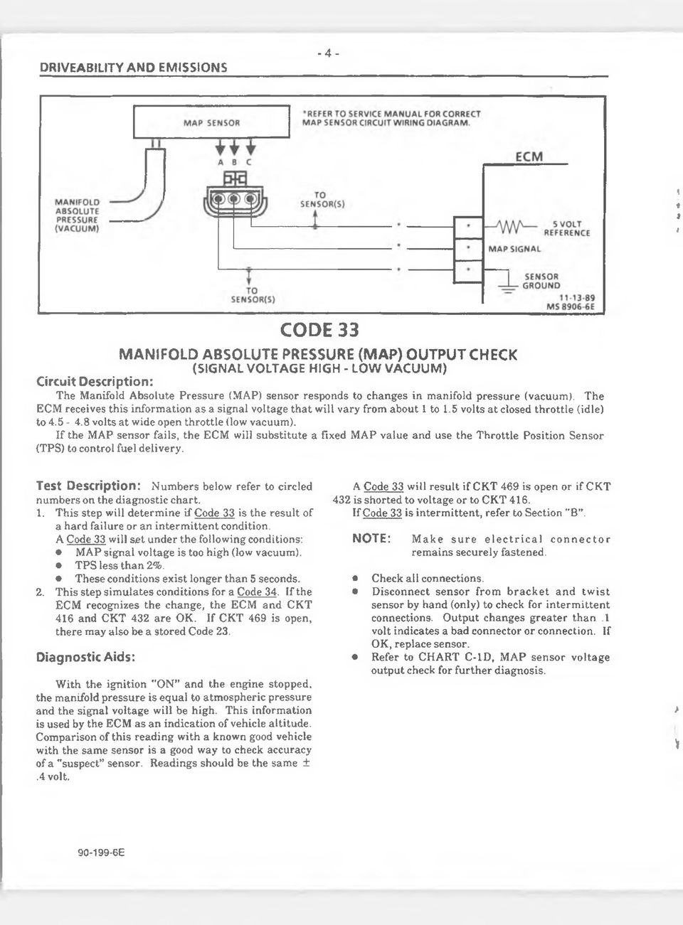 1990 Dealer Service Manual Update Bulletin Supplement Pdf. Pressure Vacuum The Ecm Receives This Information As A Signal Voltage That Will. Wiring. Mjm 700r4 Wiring Schematic At Scoala.co