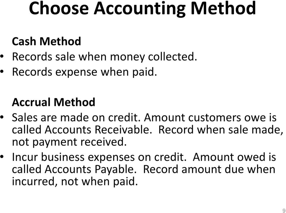 Amount customers owe is called Accounts Receivable.