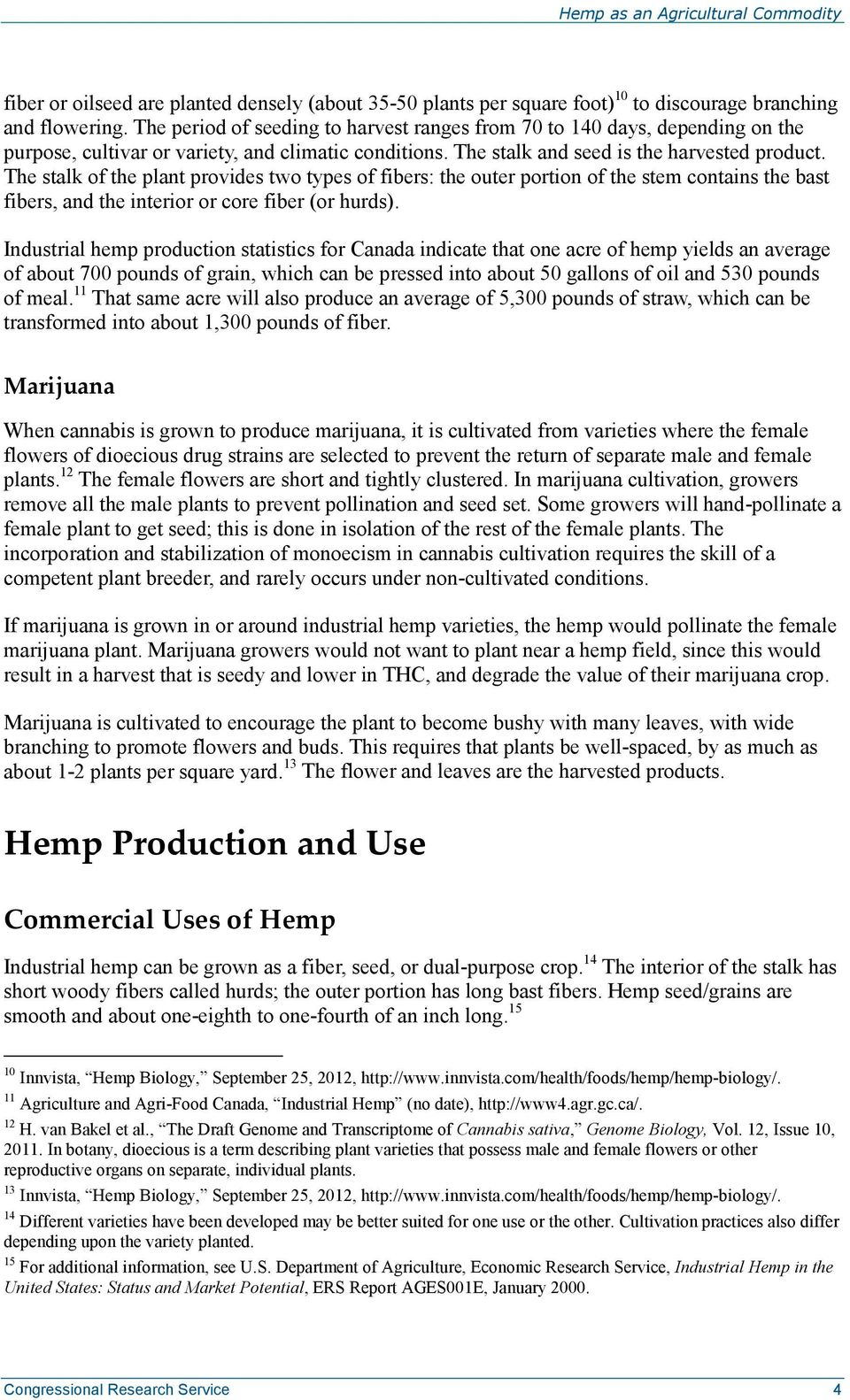 Hemp as an Agricultural Commodity - PDF