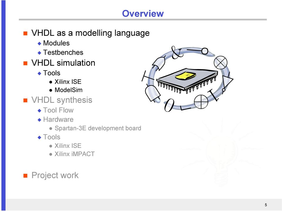 From VHDL to FPGA - PDF