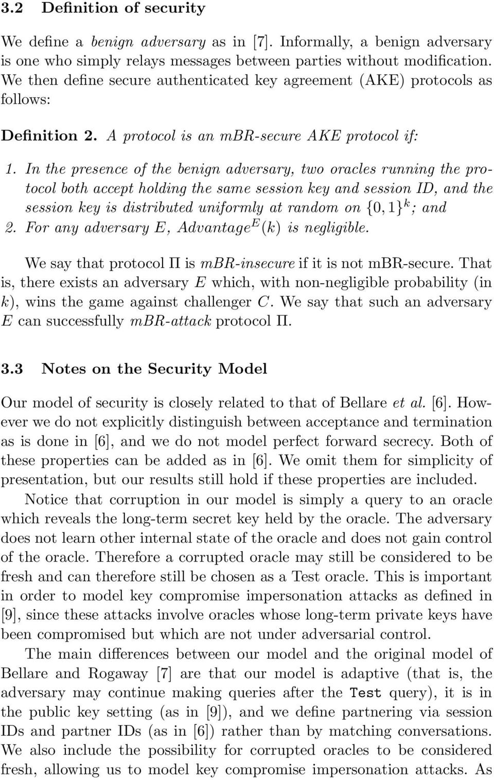 Modular Security Proofs For Key Agreement Protocols Pdf