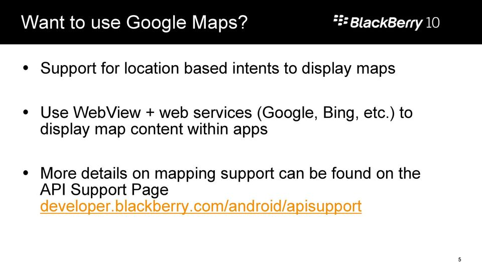 Running Android Applications on BlackBerry 10 developer