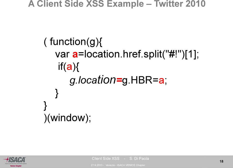 Client Side Cross Site Scripting - PDF