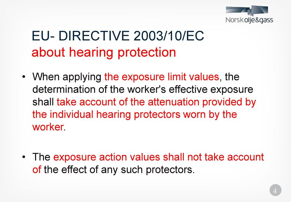 Occupational Noise in the Norwegian oil industry: - PDF