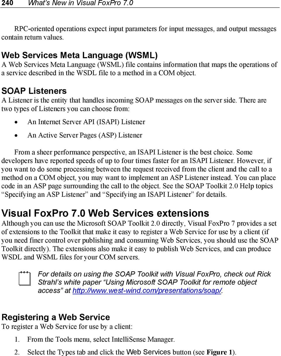 Chapter 15 working with web services pdf soap listeners a listener is the entity that handles incoming soap messages on the server side fandeluxe Choice Image