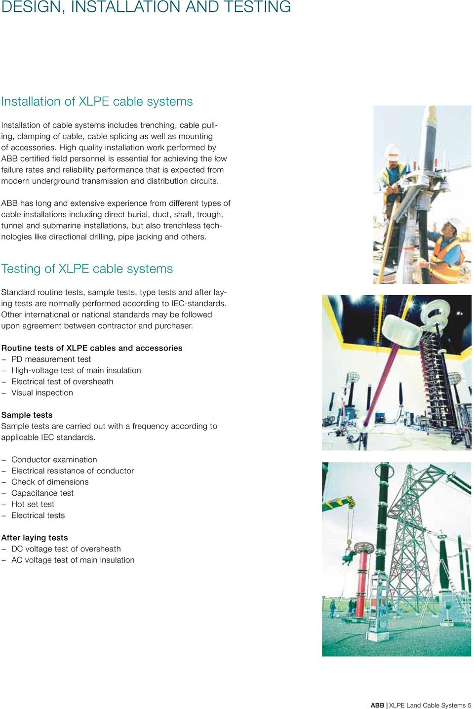 XLPE Land Cable Systems User s Guide  Rev 5 - PDF