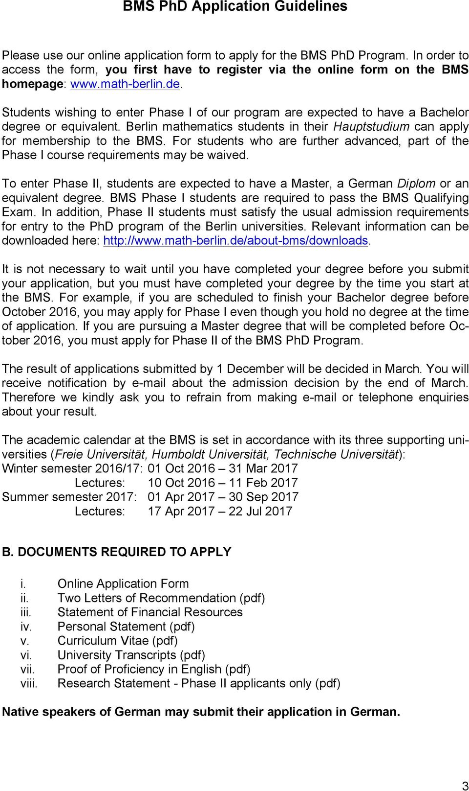 BMS PhD Application Guidelines - PDF