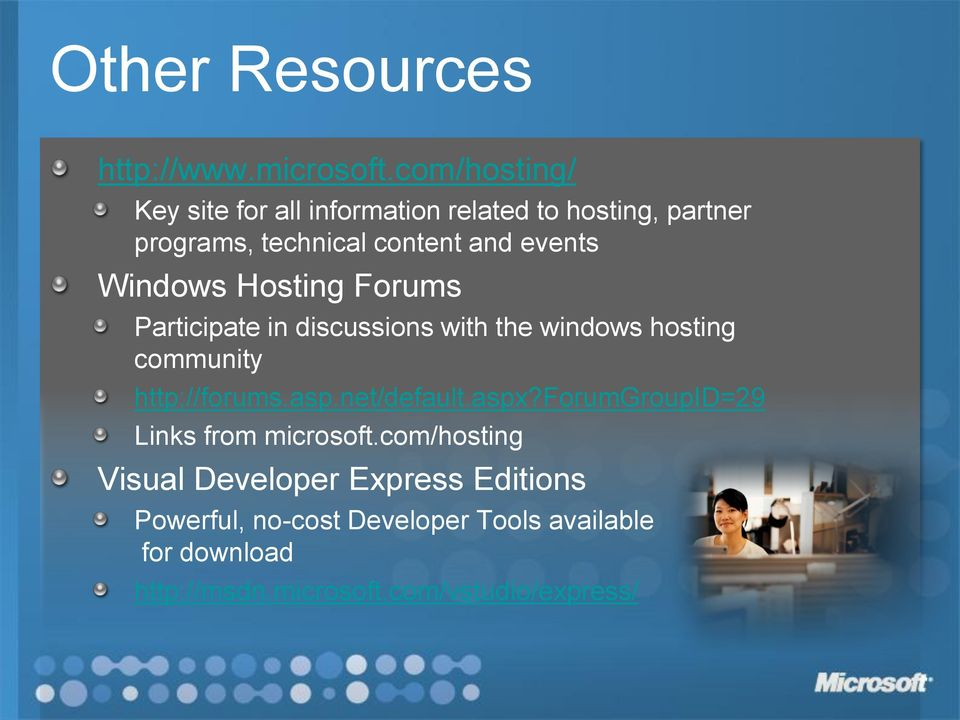 Windows Hosting Forums Participate in discussions with the windows hosting community http://forums.asp.
