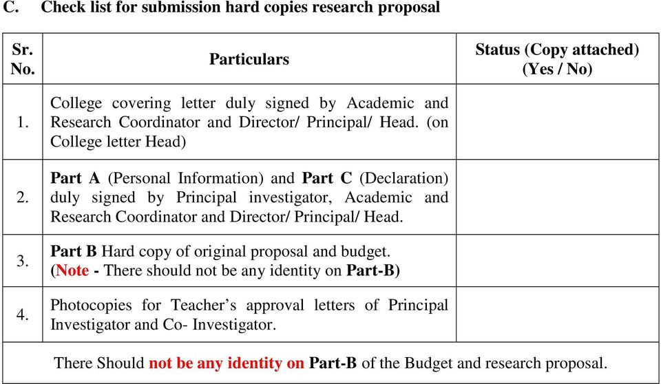 bcud research proposal format