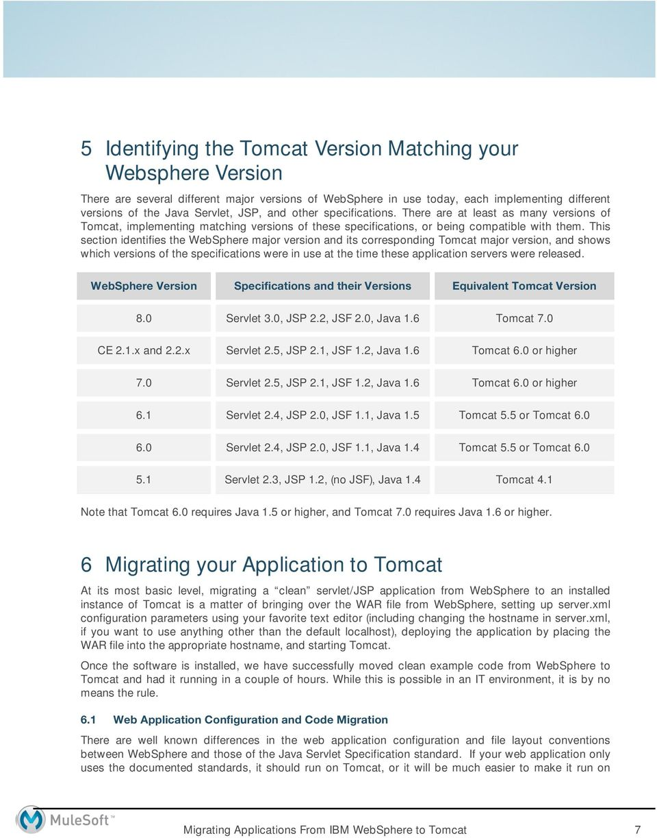 Migrating Applications From IBM WebSphere to Apache Tomcat - PDF