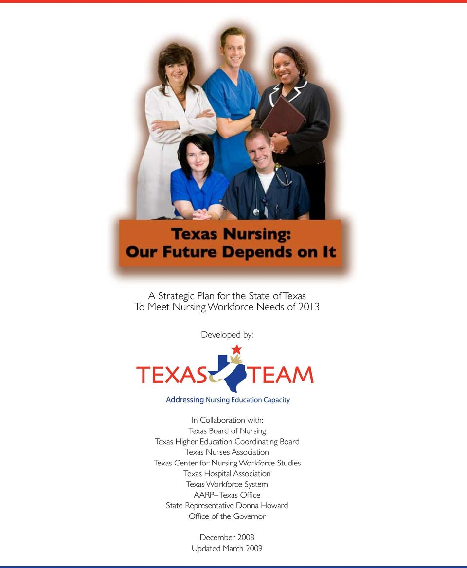 Association Texas Center for Nursing Workforce Studies Texas Hospital Association Texas Workforce