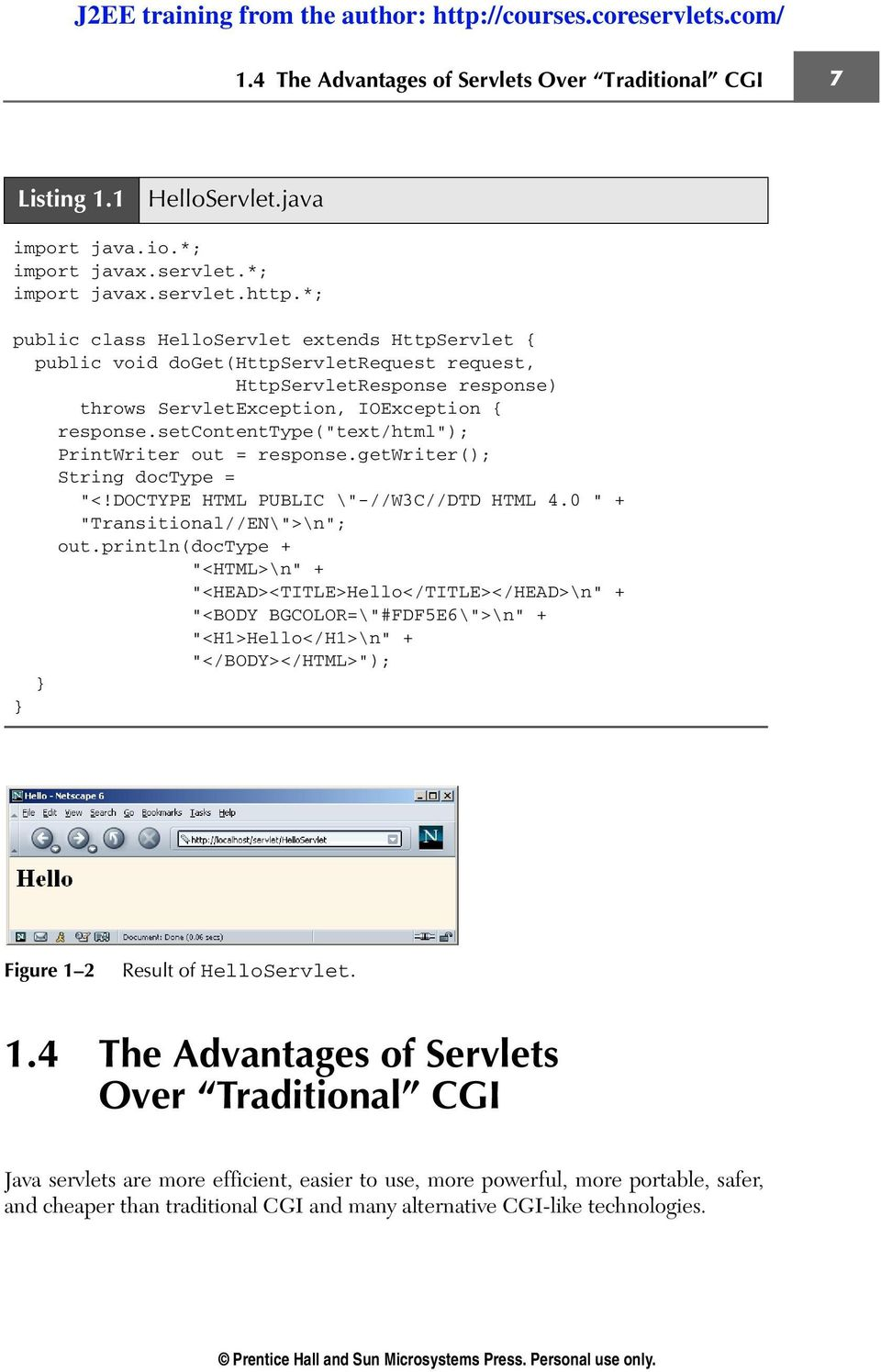 Java Servlet And Jsp Cookbook Pdf