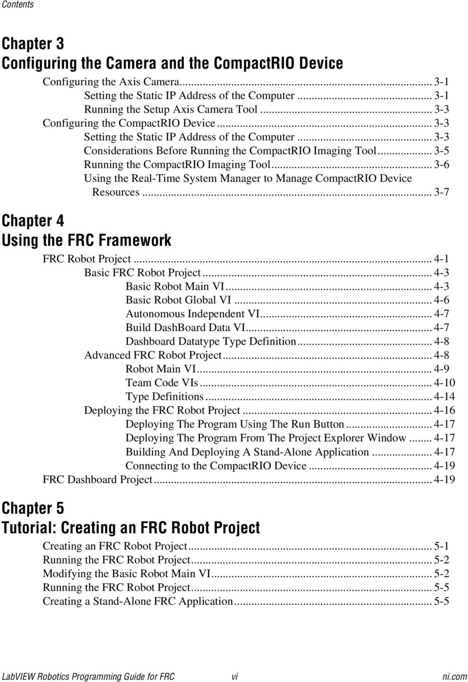 Labviewtm Robotics Programming Guide For The First Ti Jaguar Frc Wiring Diagram 3 6 Using Real Time System Manager To Manage Compactrio Device