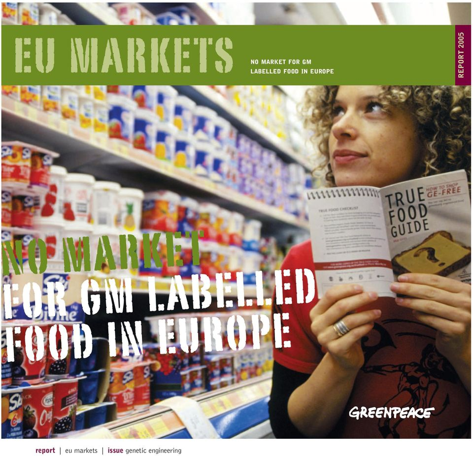 for gm labelled food in europe