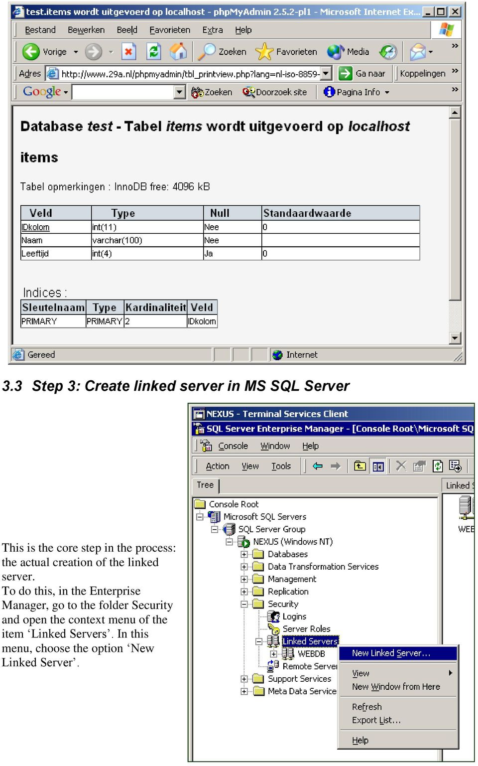 How-To: MySQL as a linked server in MS SQL Server - PDF