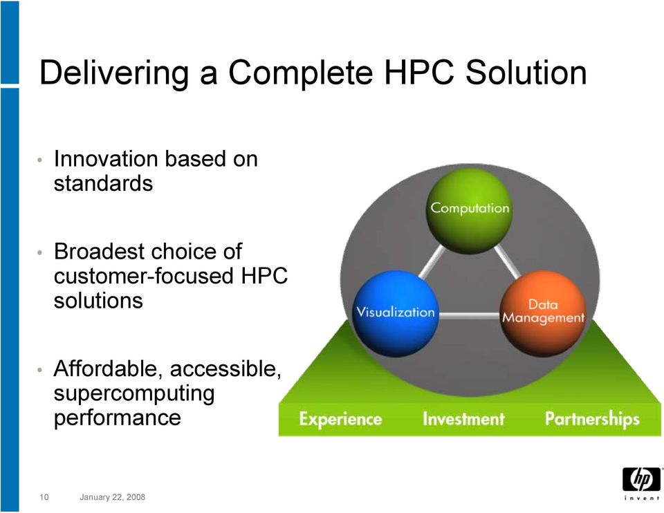 customer-focused HPC solutions Affordable,