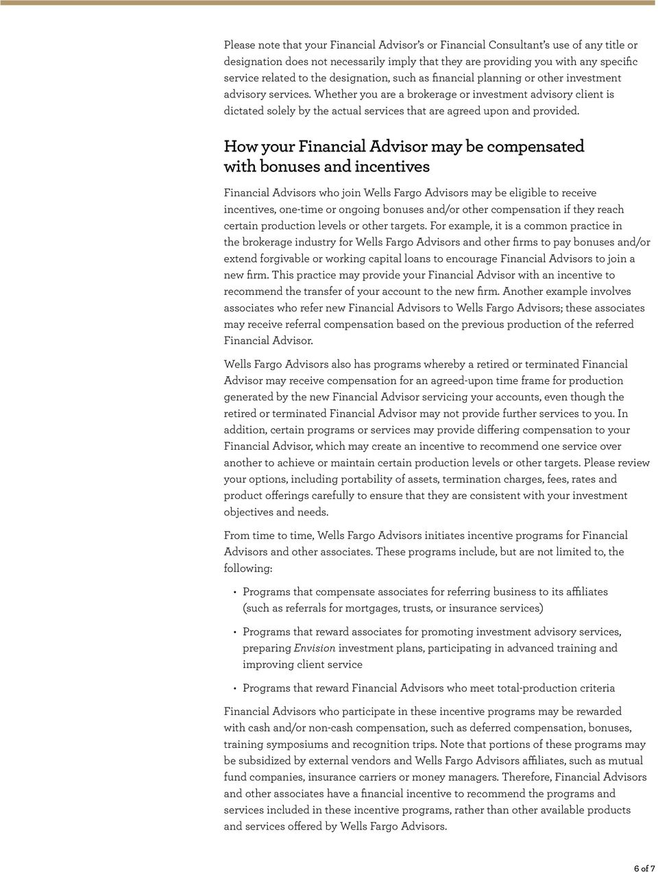 Investment advisory and brokerage services - PDF