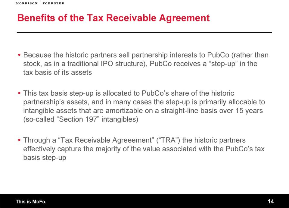 Understanding Up C IPO Structures The Tax Benefits Explained