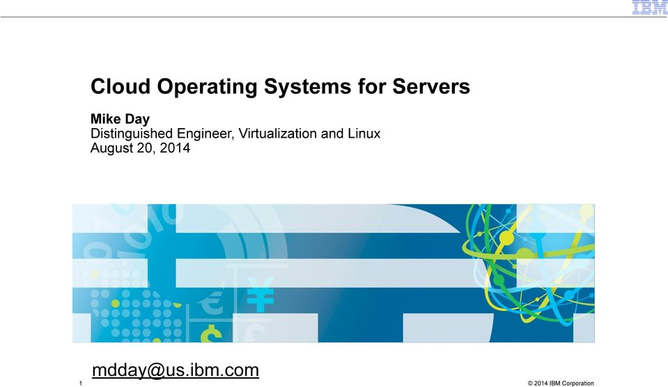 Engineer, Virtualization and