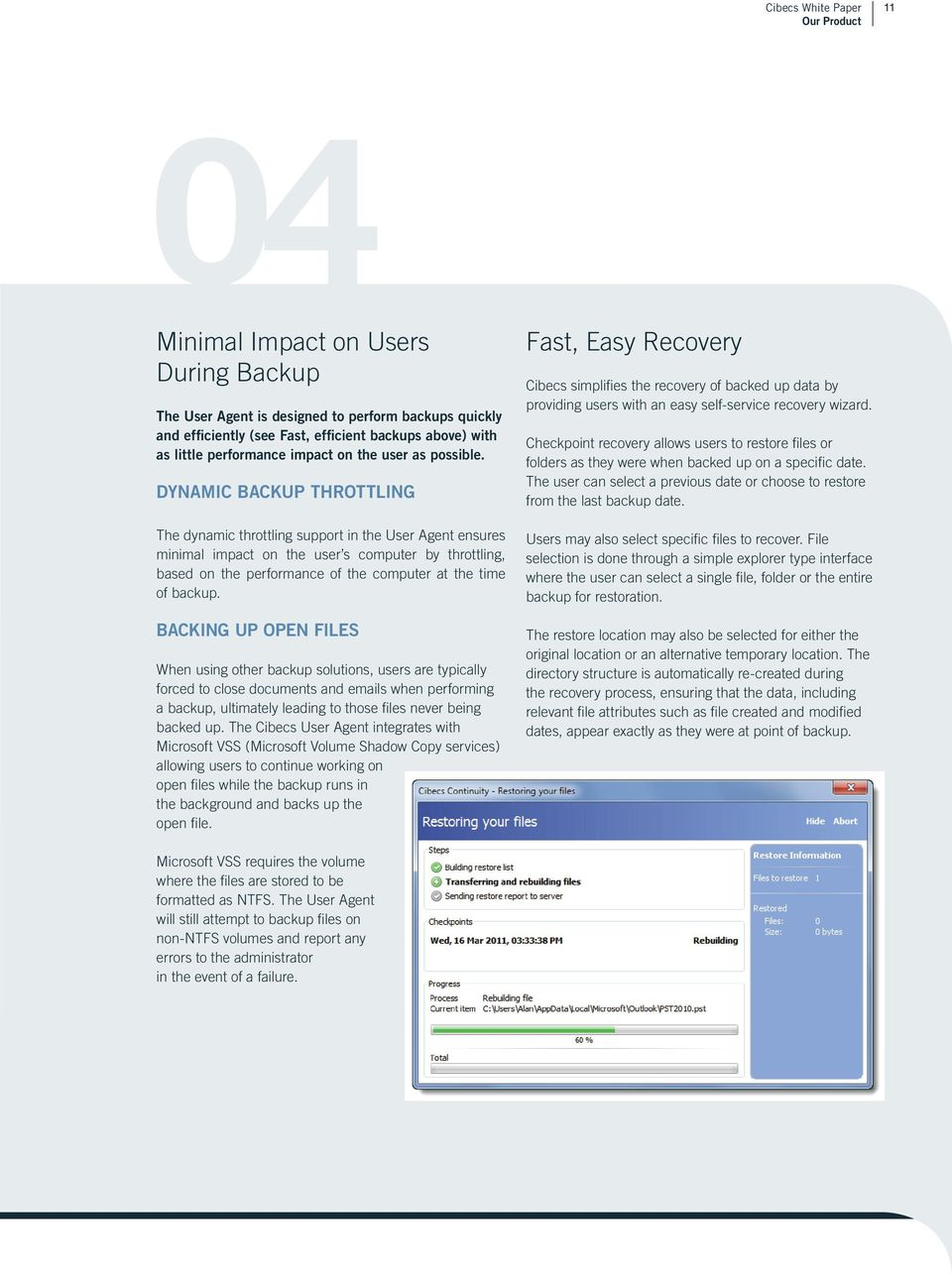 THE SIMPLEST WAY TO BACKUP AND RECOVER DATA ON ALL LAPTOPS AND