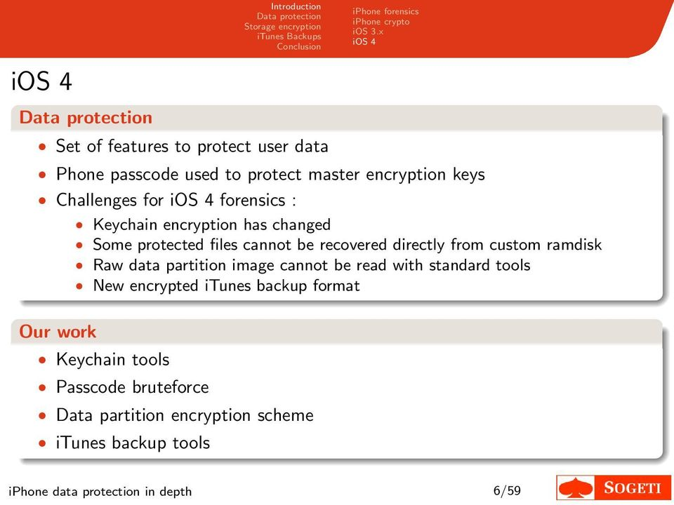 iphone data protection in depth - PDF