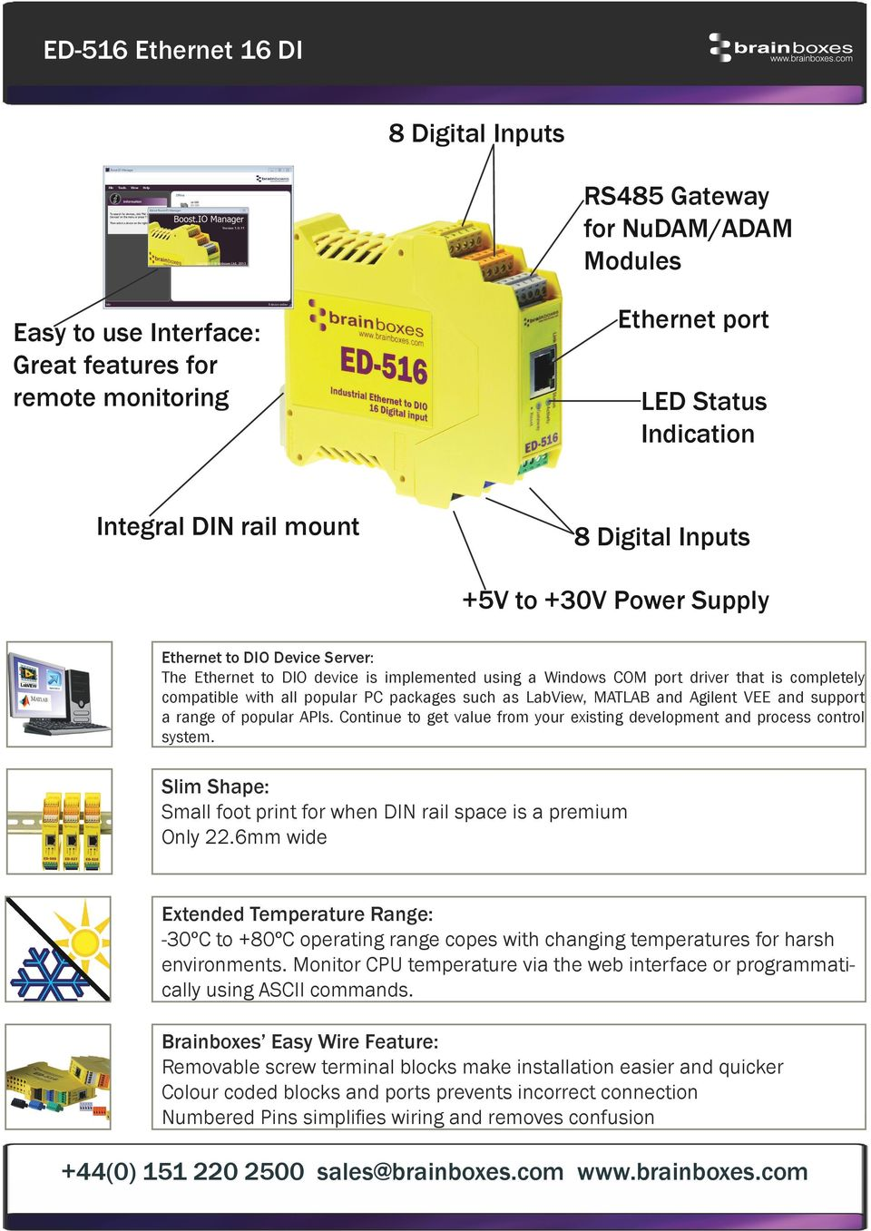 Ed 516 Ethernet To Digital In Connect Configure Control Physical Terminal Block Wiring Diagram Furthermore Nmea 0183 Cable Matlab And Agilent Vee Support A Range Of Popular Apis Continue Get Value