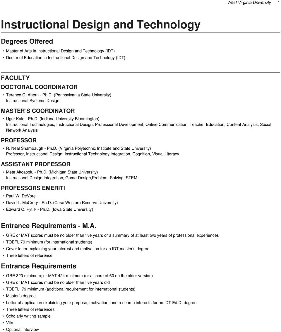 Instructional Design And Technology Pdf Free Download
