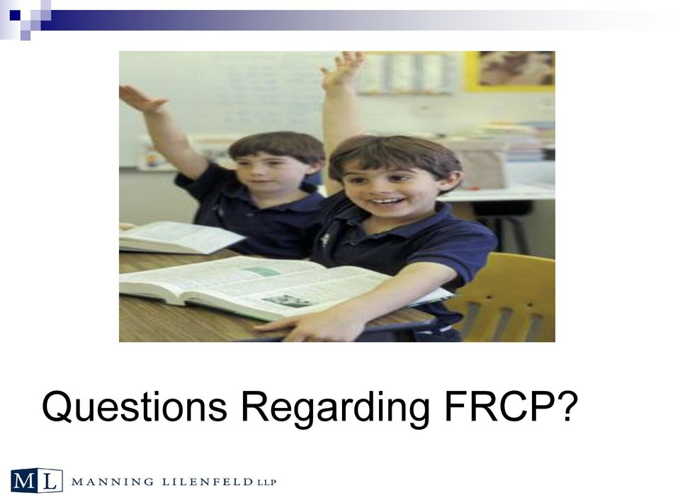 FRCP?