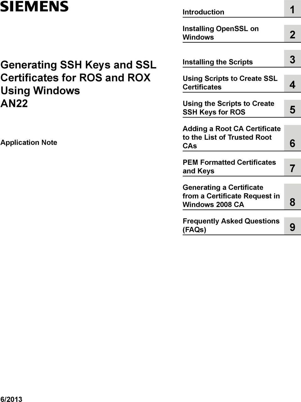 Generating Ssh Keys And Ssl Certificates For Ros And Rox Using