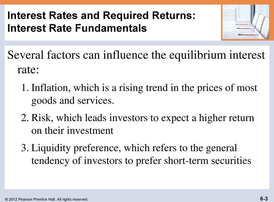 Chapter 6 Interest Rates And Bond Valuation Pearson Prentice