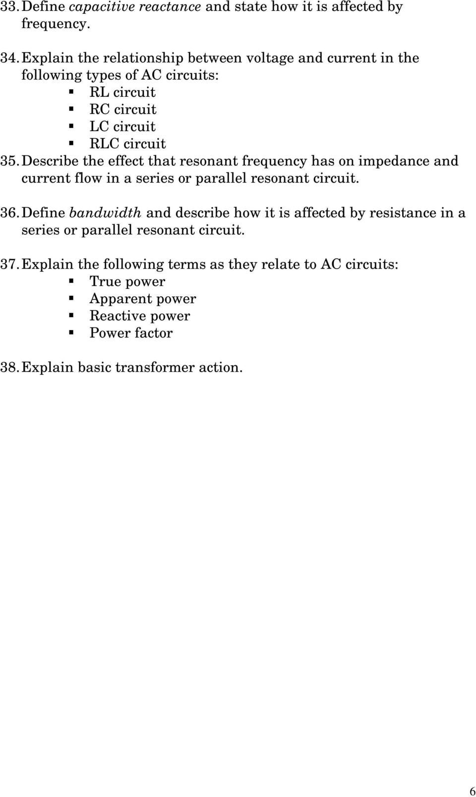 Elpt 1419 Fundamentals Of Electricity I Pdf The Series Rlc And Tank Circuit Should Be Familiar To You Describe Effect That Resonant Frequency Has On Impedance Current Flow In A Or
