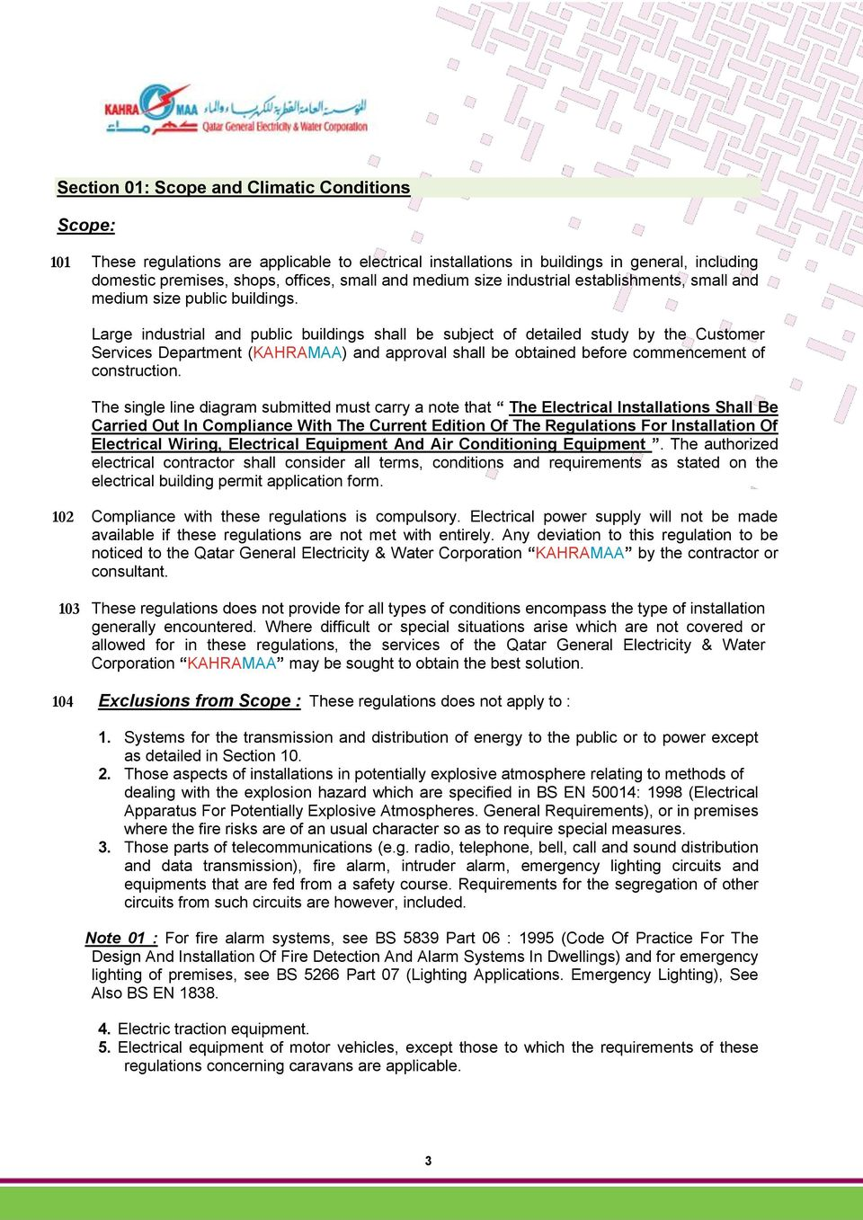 Regulations For The Installation Of Electrical Wiring Singlephase In A Multistory Building Large Industrial And Public Buildings Shall Be Subject Detailed Study By Customer Services Department