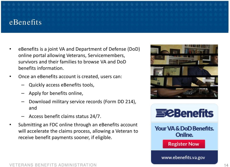 va benefits for servicemembers veterans and families veterans and