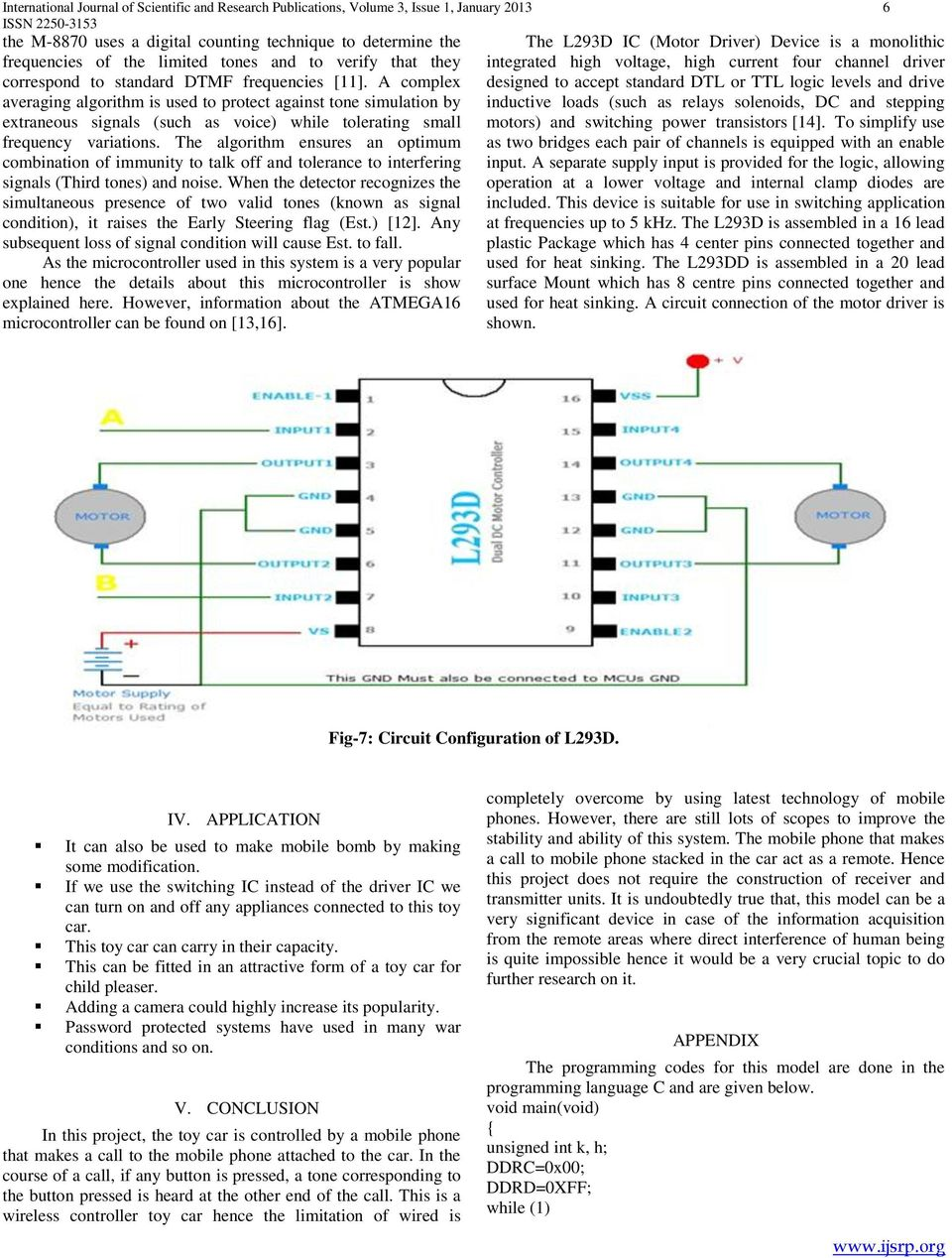 Designing Implementation Of Mobile Operated Toy Car By Dtmf Pdf Ac Fan Speed Control Using Android Microtronics Technologies A Complex Averaging Algorithm Is Used To Protect Against Tone Simulation Extraneous Signals Such