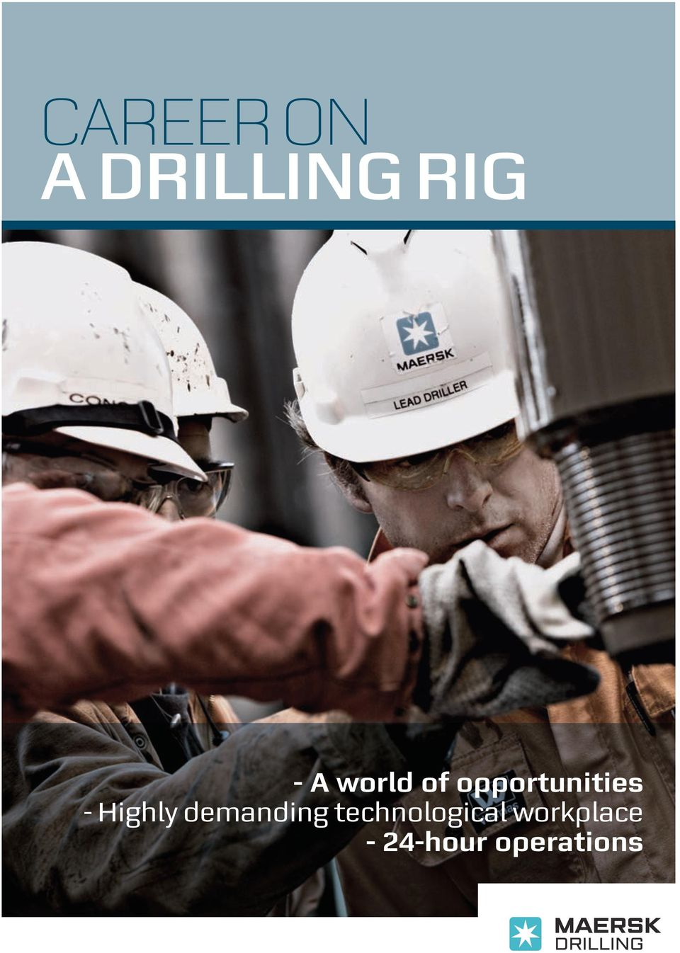 Career on a drilling rig - PDF