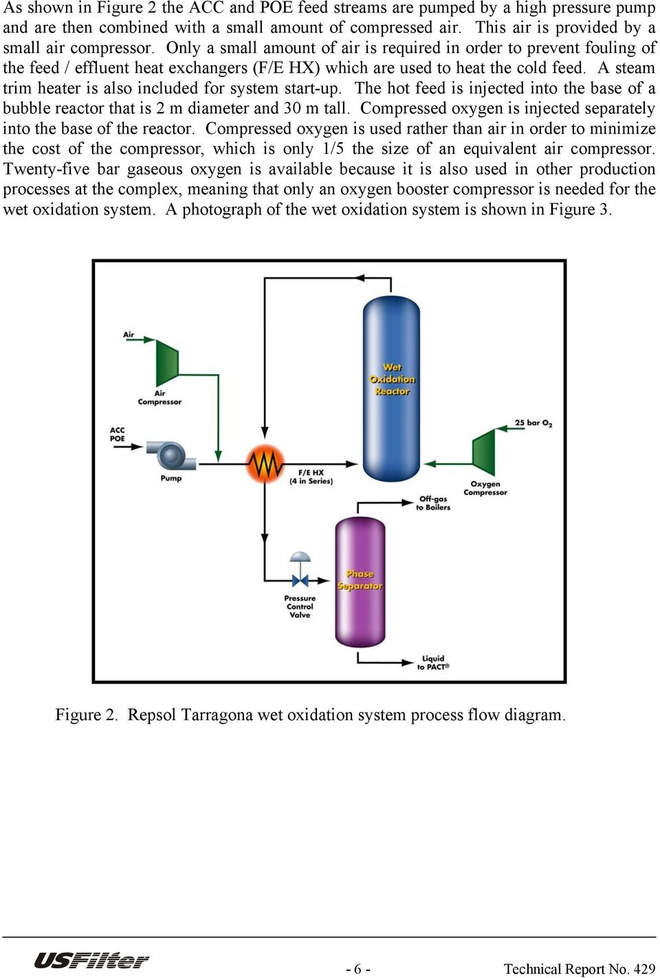 Process Flow Diagram Reactor By Juan Pedrerol Gallego Repsol Quimica Sa Tarragona Spain A Steam Trim Heater Is Also Included For System Start Up The Hot Feed